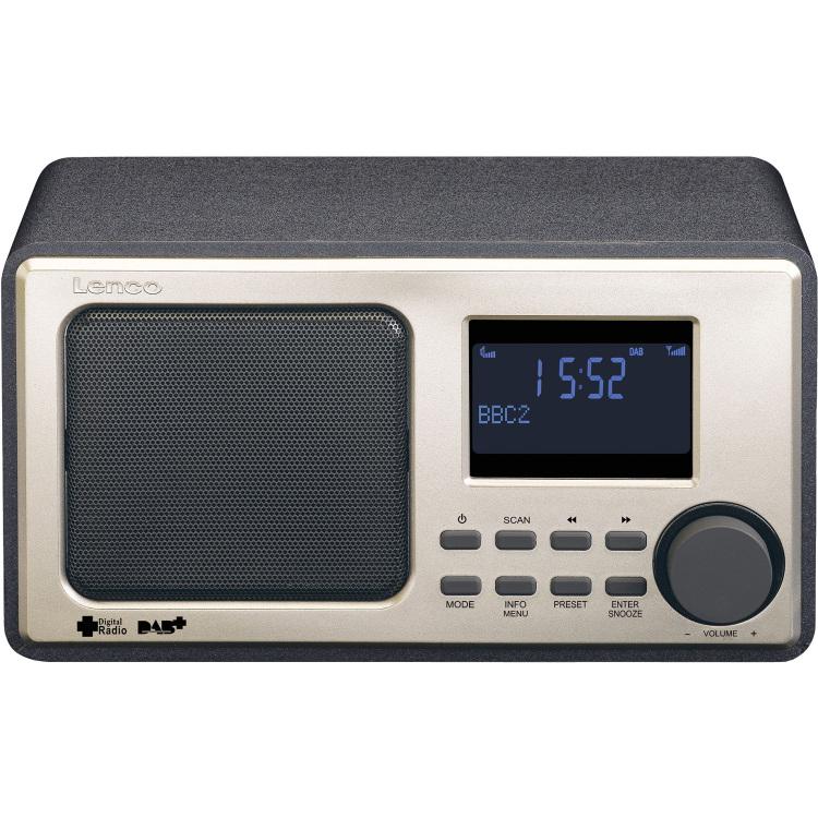 Lenco DAR-010 Persoonlijk Digitaal Zwart radio