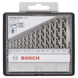 Bosch Metaalborencassette 1,5-6,5mm 13-delig (per stuk)
