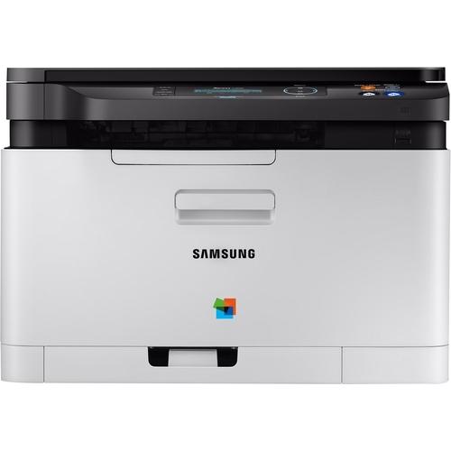 Samsung Xpress C480W Multifunctionele kleurenlaserprinter A4 Printen, Scannen, Kopiëren LAN, WiFi,