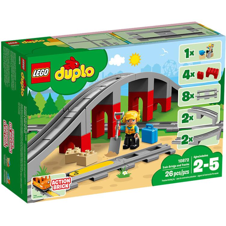 DUPLO - Treinbrug en -rails