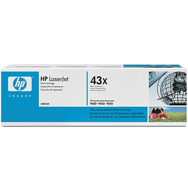 HP 43X - Tonercartridge / Zwart / Hoge Capaciteit