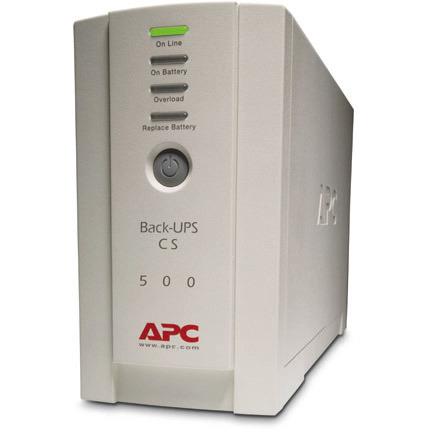 APC BK500EI Back UPS CS 500VA 300W Input 230V Output 230V Interface Port DB-9 RS-232 USB
