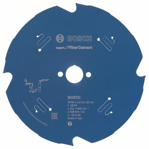 Cirkelzaagbl.FiberCement 165x20x2,2 4T (per stuk)