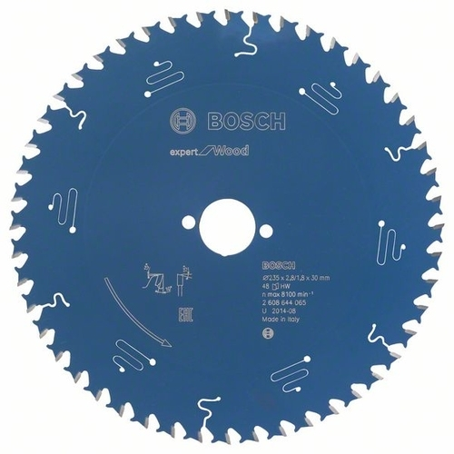 Cirkelzaagbl.Wood 235x30x2,8 48T (per stuk)