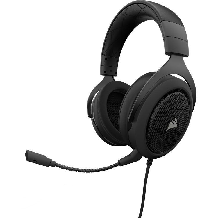 Corsair Gaming HS50 Stereo Gaming Headset (Carbon)