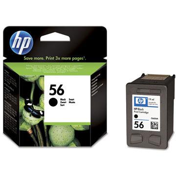 HP Inktpatroon »HP C6656AE« HP 56