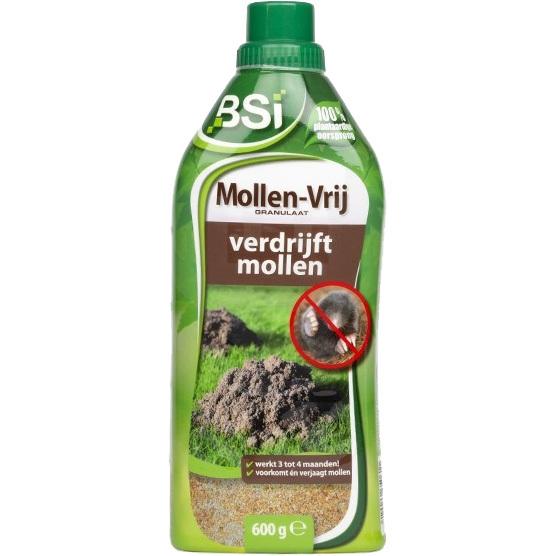 Mollen-vrij strooigranulaat