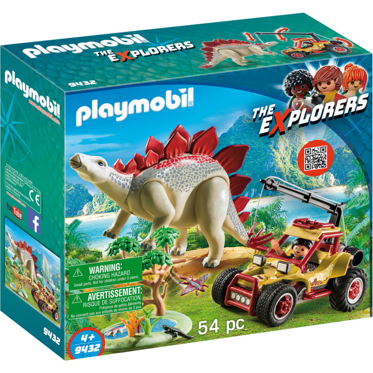 The Explorers Explorersbuggy met Stegosaurus