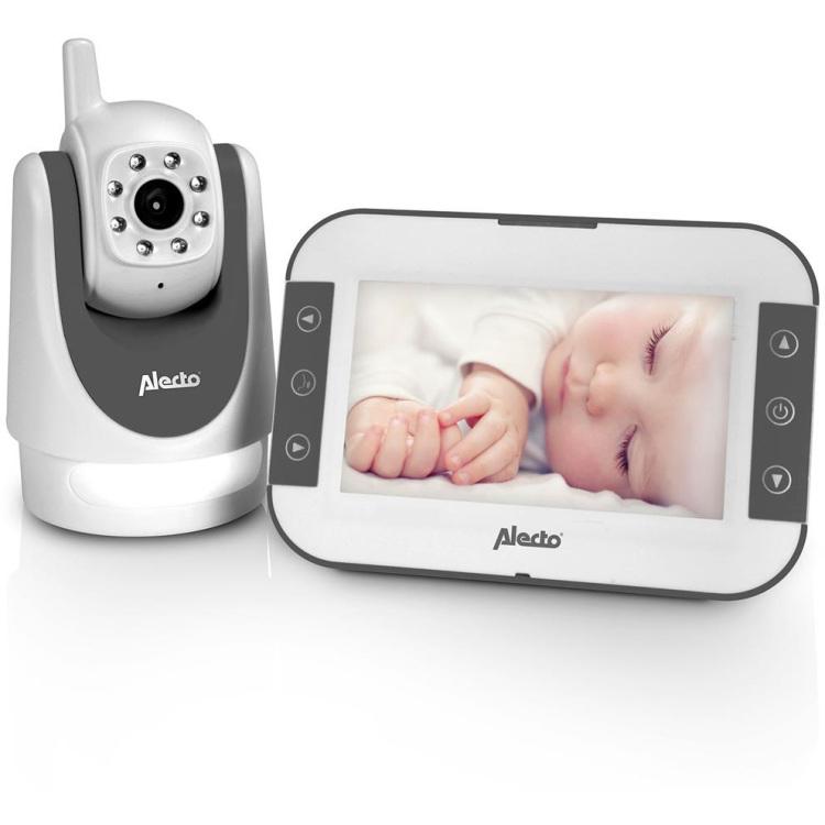 DVM-525 Babyfoon met camera en 5 kleurenscherm
