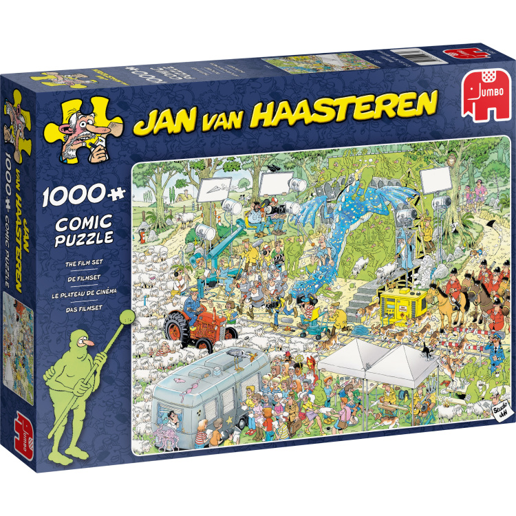 Alternate-Jumbo Jan van Haasteren - De filmset puzzel 1000 stukjes-aanbieding