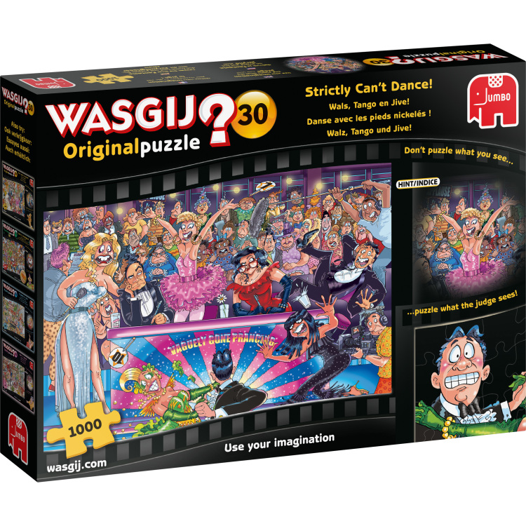 Alternate-Jumbo Wasgij? Original 30 - Wals, tango en jive! puzzel 1000 stukjes-aanbieding