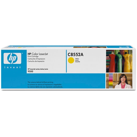HP 822A - Tonercartridge / Geel
