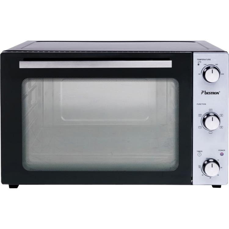 Alternate-Bestron AOV55 grill-bakoven met draaispit en hetelucht mini bakoven-aanbieding