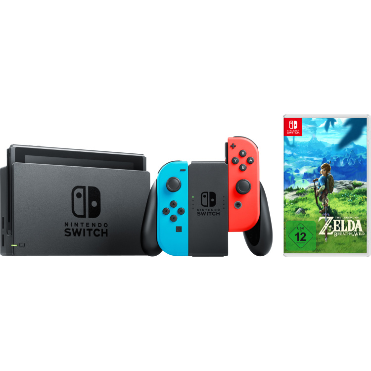 Switch + Zelda Breath of the Wild