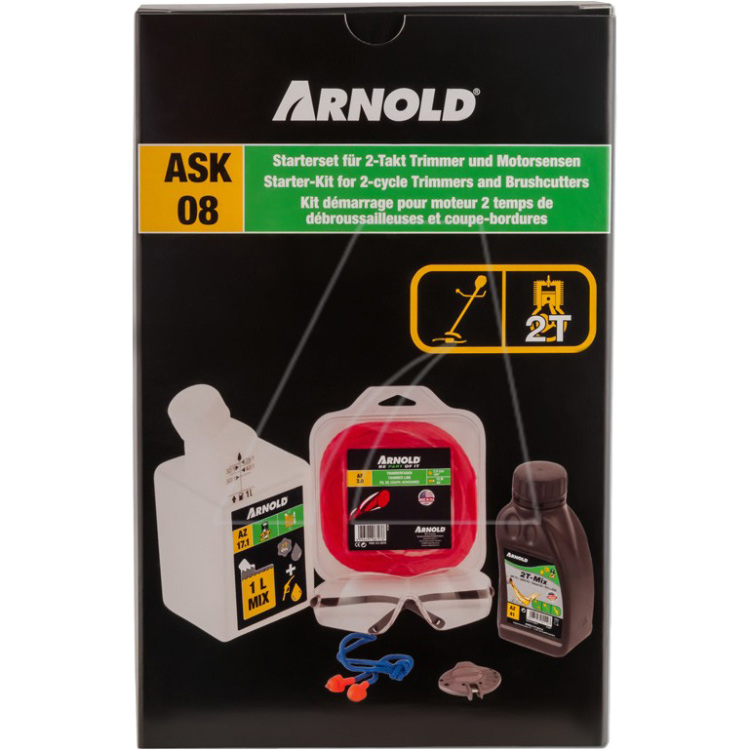 Arnold Starterset ASK08 voor 2-Takt trimmer en kettingzagen