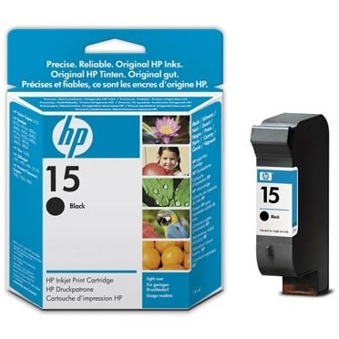 HP 15 Cartridge Zwart (C6615NE)