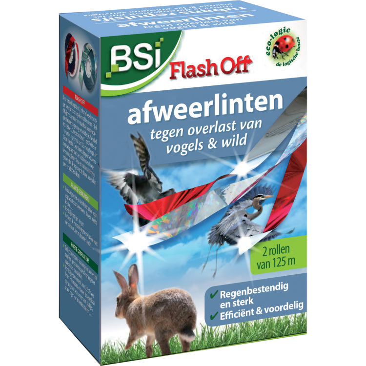Flash Off vogelafweer
