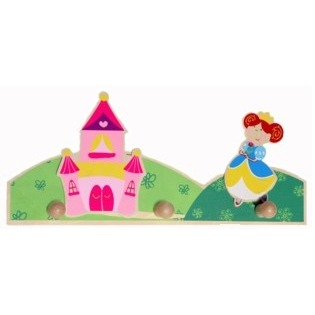 Kapstok: prinses Simply for Kids 29x12x3 cm (22528P)