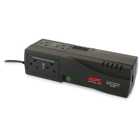 Image of APC Back-UPS 325VA 185W Schuko Sockets