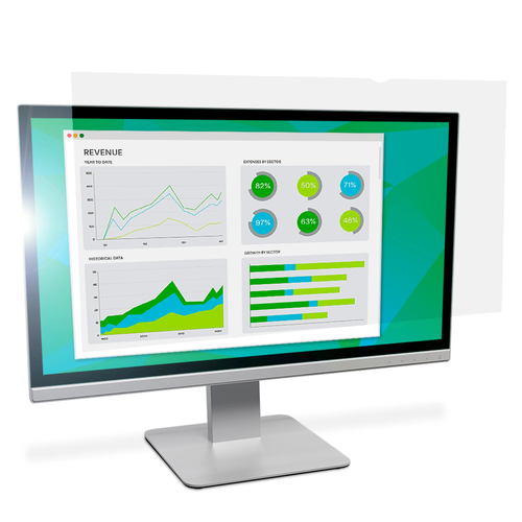 3M Filter anti-schittering voor breedbeeldscherm voor desktop 27 antireflectiebescherming