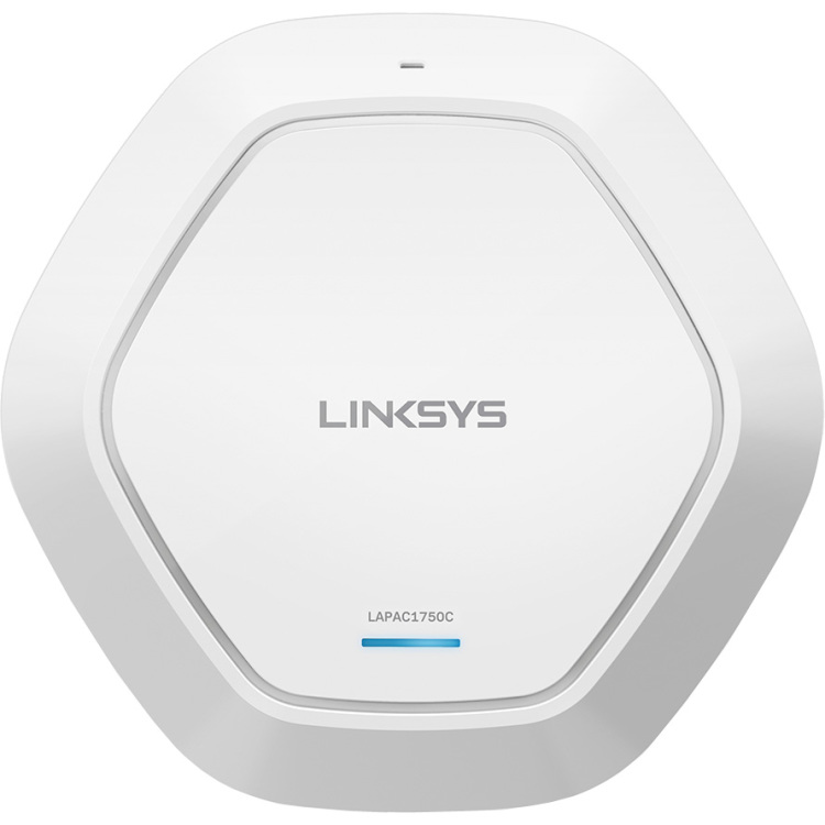 Linksys AC1750 1000Mbit-s Power over Ethernet (PoE) Wit WLAN toegangspunt