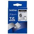 Brother TZ-211 Zwart op Wit (6 mm x 8 m)
