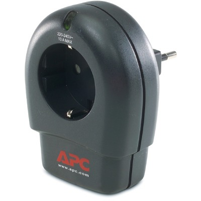 APC ESSENTIAL SURGEARREST 1 OUTLET WITHPHONE PROTECTION 230V GERMANY