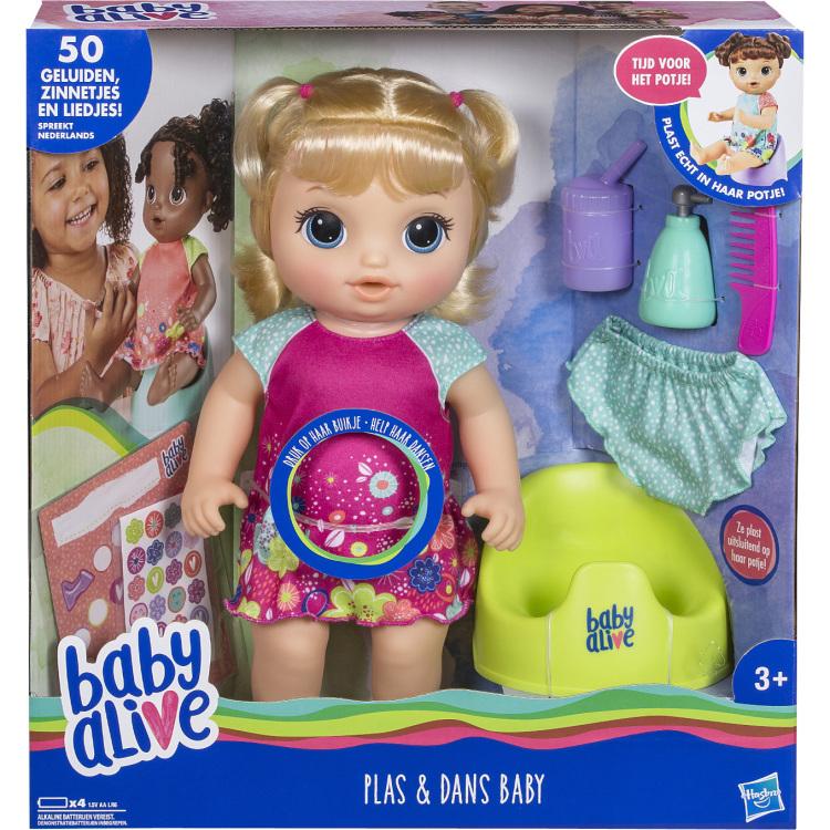 Alive Plas en Dans Baby