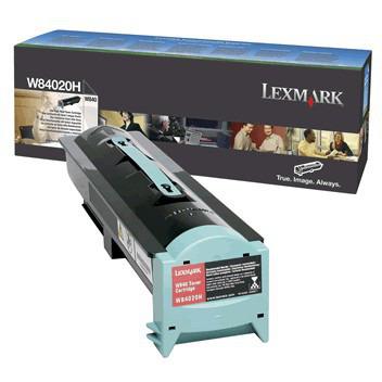 Lexmark Toner 00W84020H HC zwart