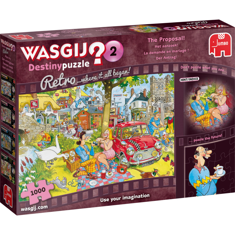 Wasgij Retro Destiny 2 Stop the Clock 1000 pcs 1000stuk(s)