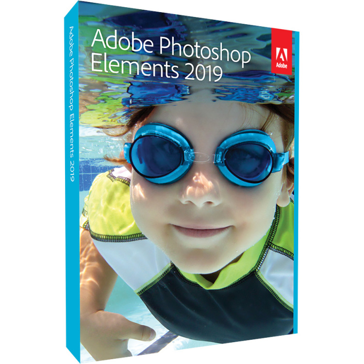 Adobe Photoshop Elements 2019 - Windows/Mac software Engels