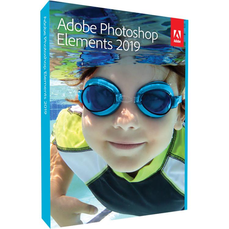 Adobe Photoshop Elements 2019 - Windows/Mac software Engels