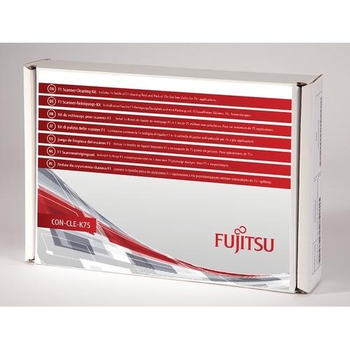 Fujitsu CON-CLE-K75 Scanners Droge doekjes voor apparatuurreiniging computerreinigingskit