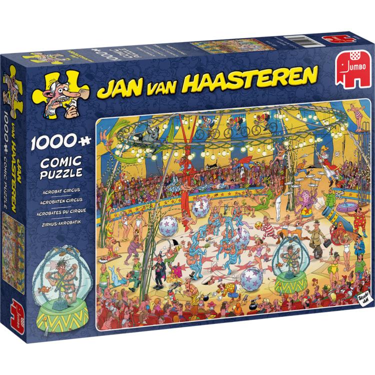 Alternate-Jumbo Jan van Haasteren - Acrobaten circus puzzel 1000 stukjes-aanbieding