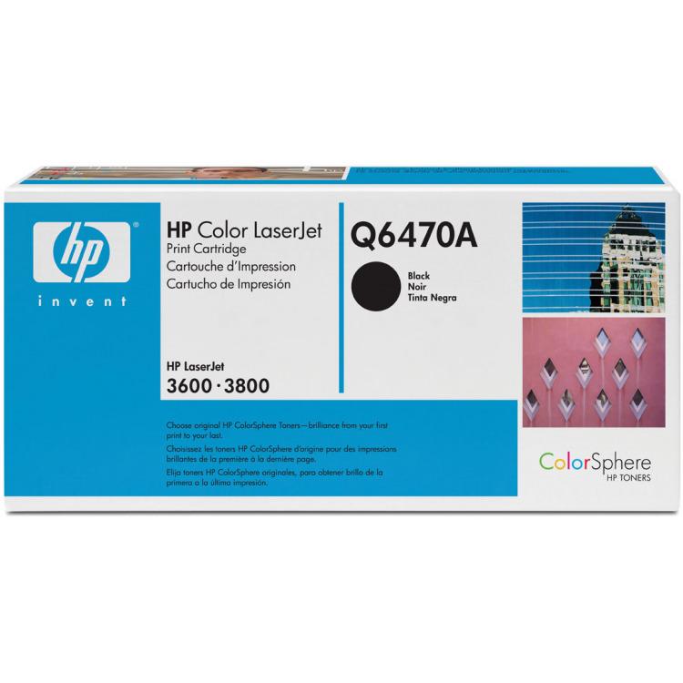 HP Tonercassette »HP Q6470A«