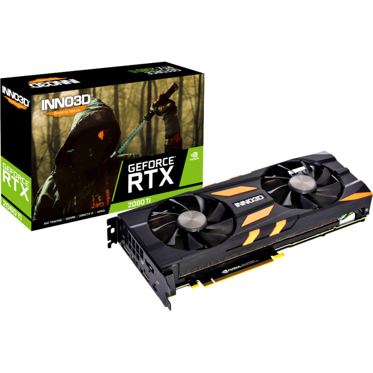 GeForce RTX 2080 TI X2 OC 11GB