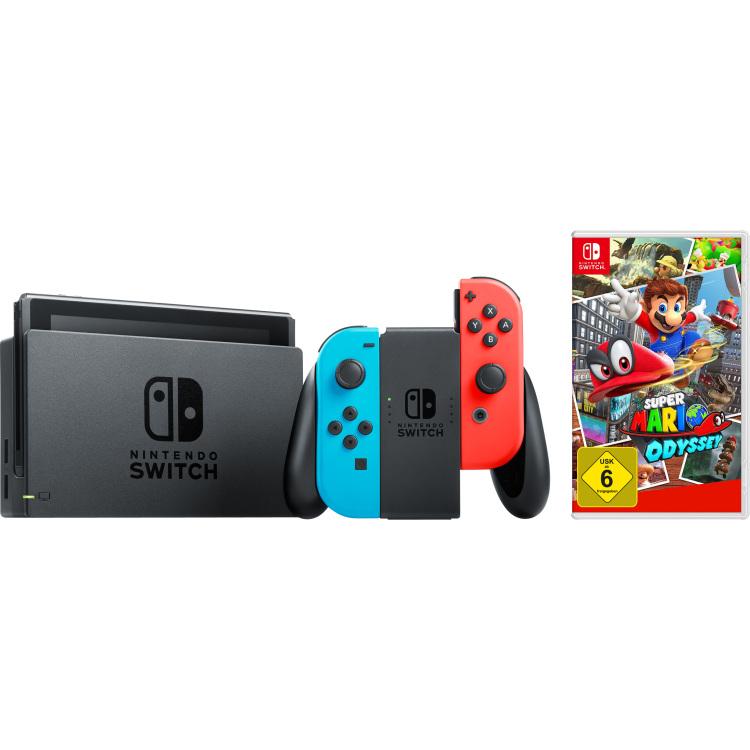 Switch + Super Mario Odyssey