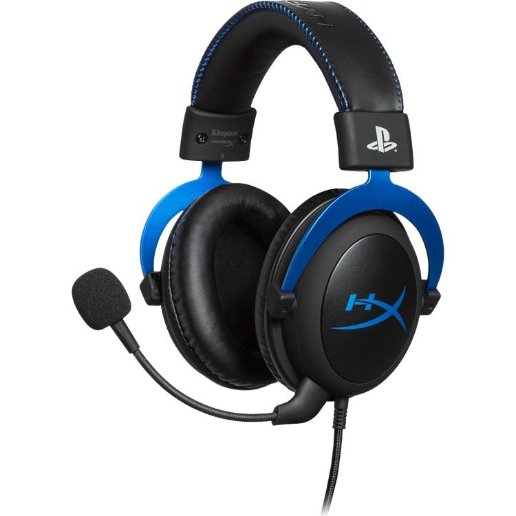 HyperX Cloud Blue gaming-headset (ruisonderdrukking)