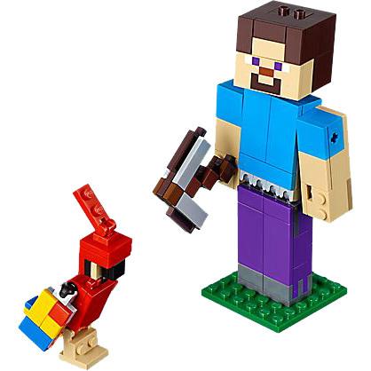 Lego 21148 Minecraft Bigfig Steve