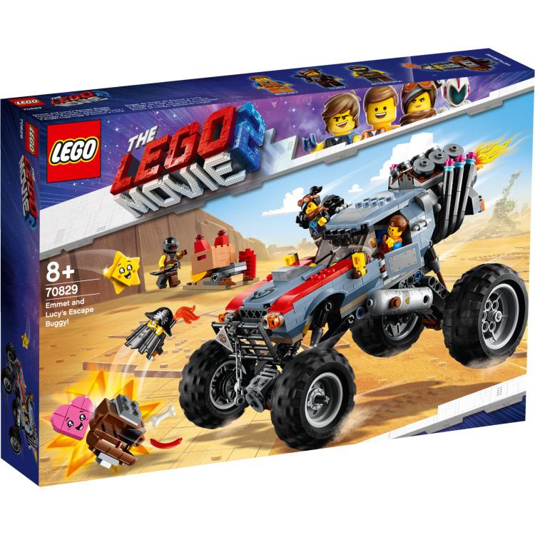 Emmets En Lucys Vlucht Buggy Lego 70829