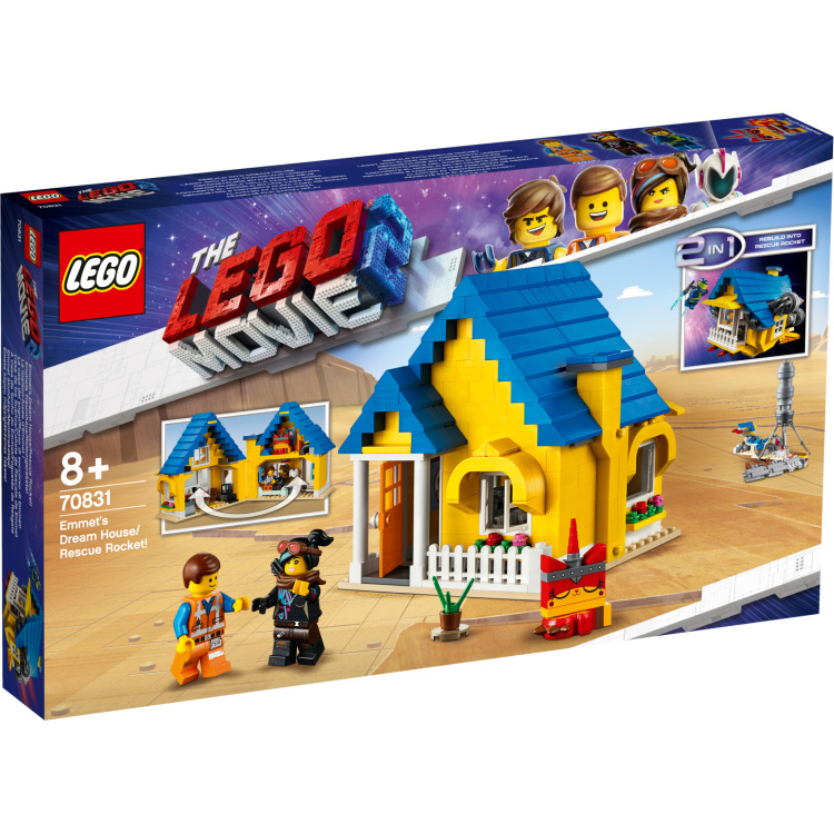 Emmets Droomhuis-reddingsraket Lego 70831