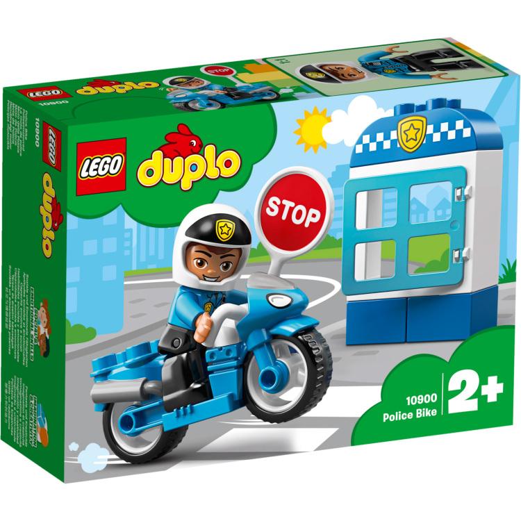DUPLO - Politiemotor