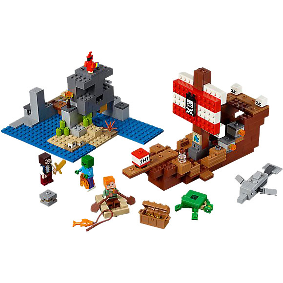 Lego 21152 Minecraft Piratenschip