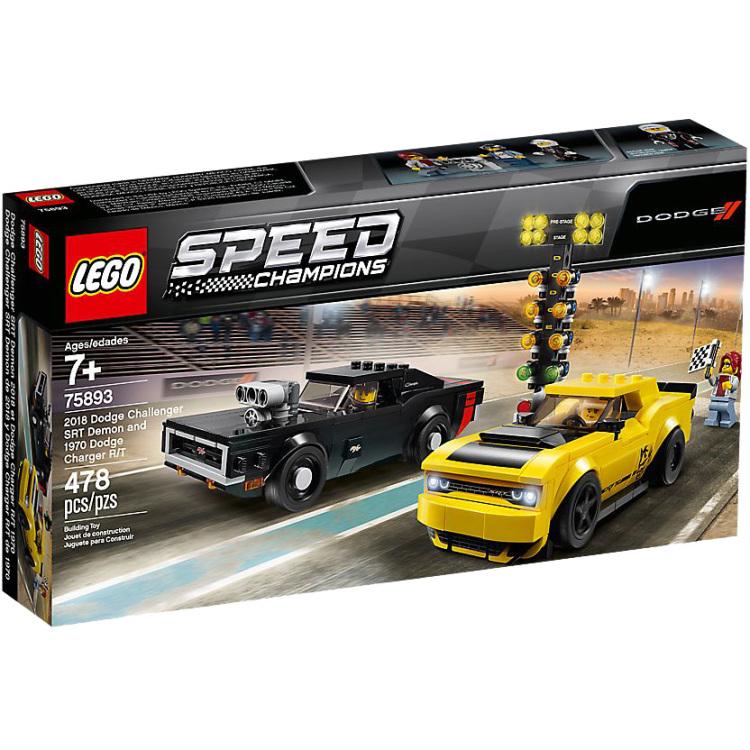 Lego 75893 Champions Dodge Challenger