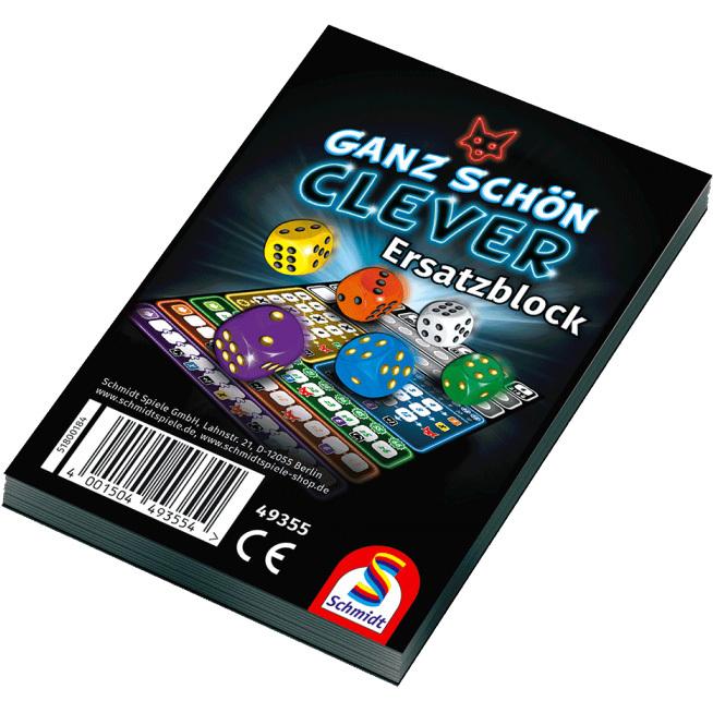 999 Games Clever Scoreblok 2 stuks
