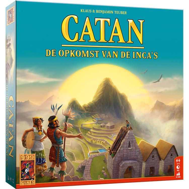 999 Games Catan: De Opkomst van de Incas