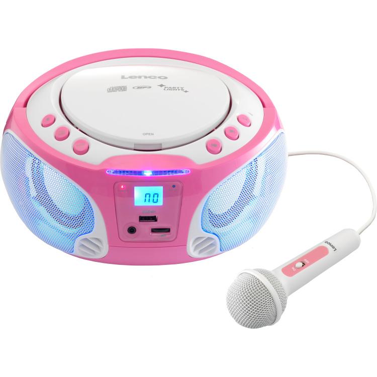 Lenc CD MP3 speler SCD-650 Blauw