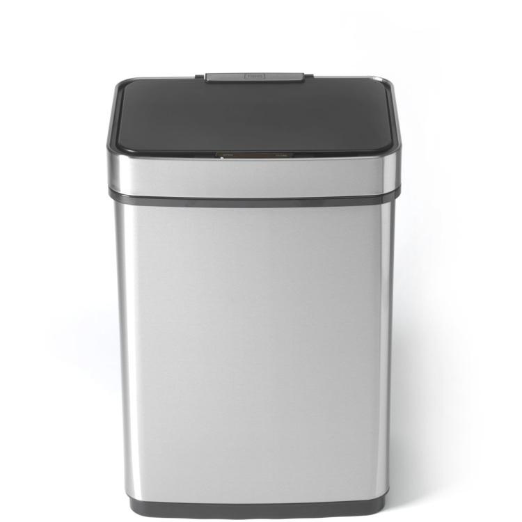 Trebs Sensor vuilnisbak 50 L roestvrij staal 99359