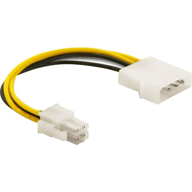DeLOCK Cable P4 male > Molex 4pin male (82391)