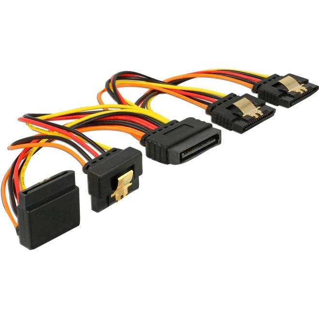 DeLOCK SATA 15 pin power > SATA 15 pin power kabel